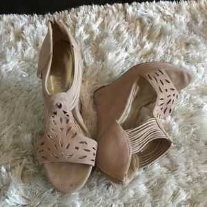 Bamboo wedges good condition